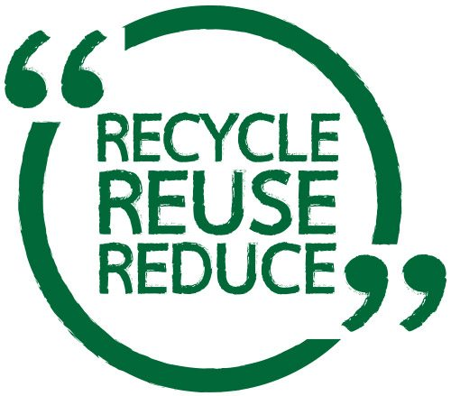 Recycle - Reuse - Reduce
